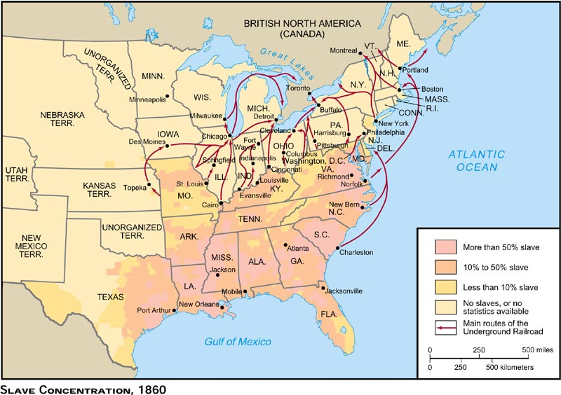 Blank Maps For Quizzes - Blank map of us 1860