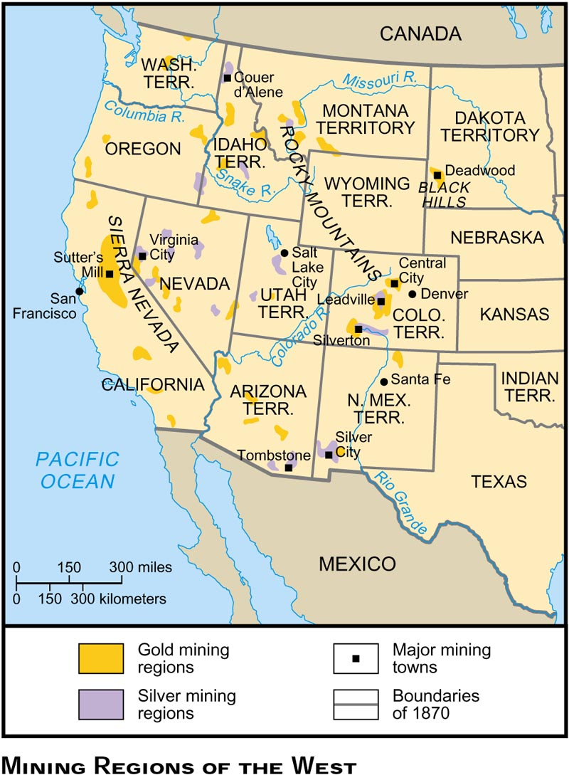 Blank Maps For Quizzes - Map of america after louisiana purchase