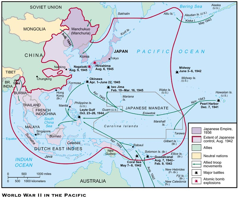27-1 World War II in the Pacific