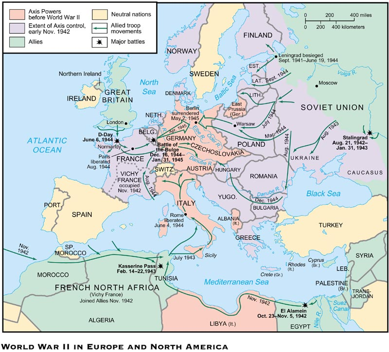 27-3 World War II in Europe and North Africa