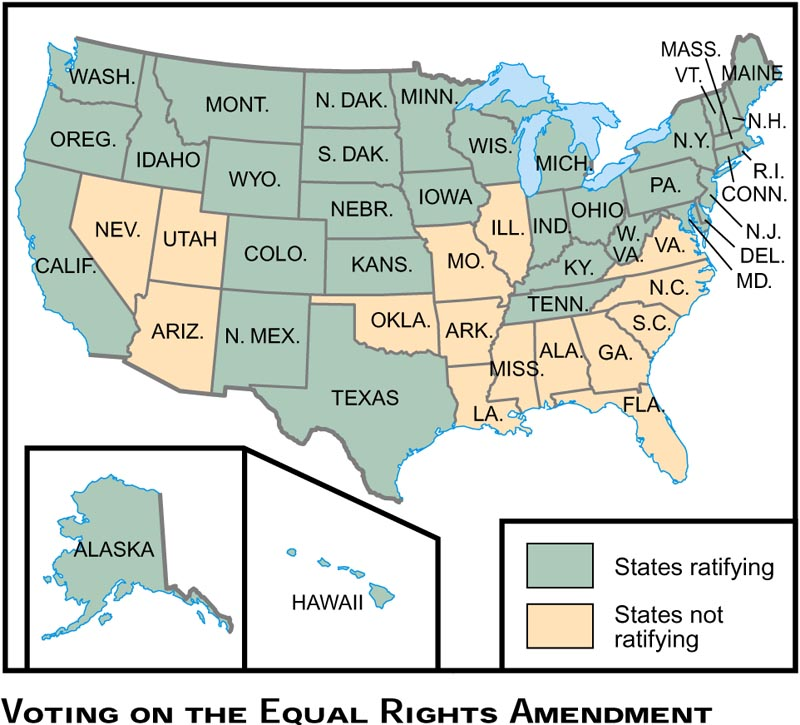 ERA states who did and did not ratify