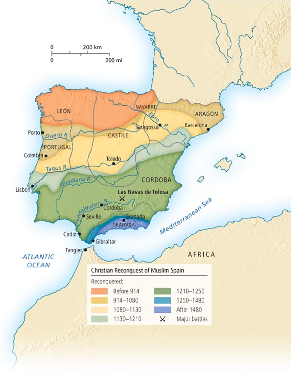 the history of the reconquest in spain Pamela a patton's art of estrangement: redefining jews in reconquest spain makes an important contribution to the already rich field of.