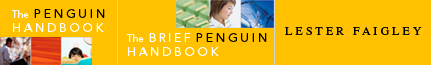 The Penguin Handbook, Second Edition, and The Brief Penguin Handbook, Second Edition