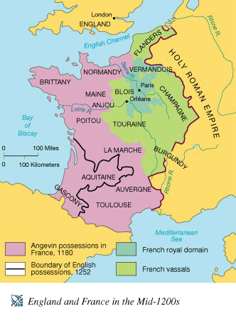 Map of france england » Travel