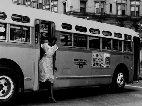 the montgomery bus protest and consequences Sarah keys and claudette colvin rosa parks' actions consequences.
