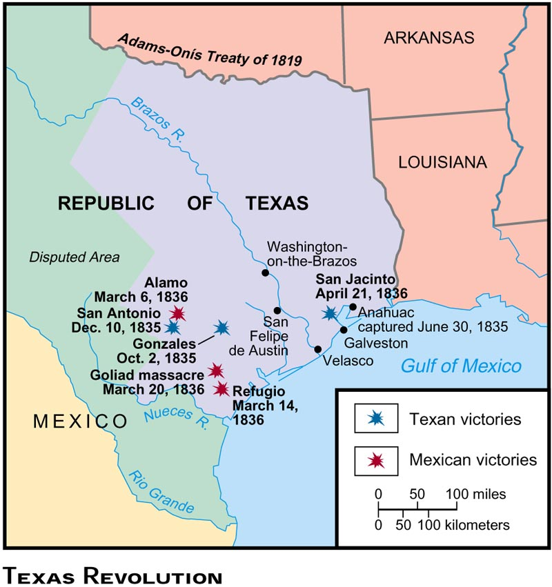THE TEXAS REVOLUTION Chapter ppt download