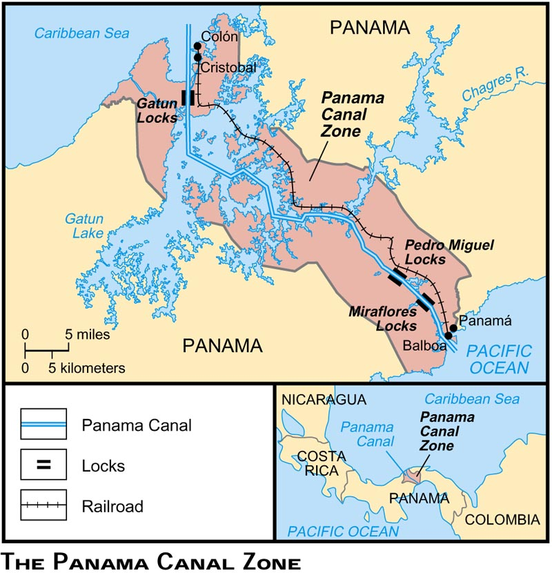 January The Day Of The Martyrs Tragedy In Panama At US - Is panama us territory map