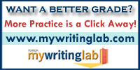 Want to get a better grade? Find more great resources at MyWritingLab
